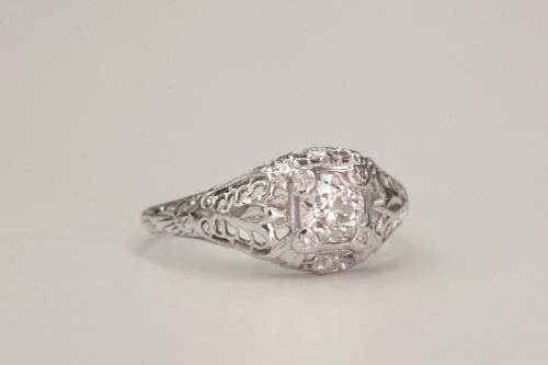 Circa 1920 vintage engagement ring VINTAGE RINGS Pinterest