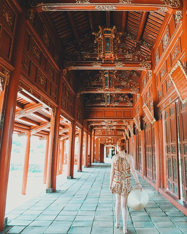 Hue Imperial City In Vietnam By Lindagoeseast Forbidden City Best Places To Travel City