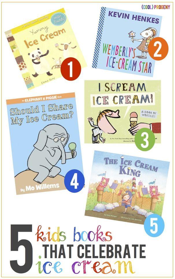 5 Kids Books That Celebrate Ice Cream --