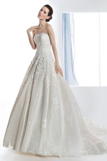 741.51$  Buy here - http://vilzv.justgood.pw/vig/item.php?t=rk6zh935388 - Demetrios Wedding Dress - Style 1470 741.51$