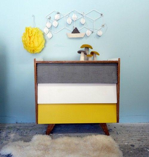 24 best Chambre jaune et vintage images on Pinterest | Chambre jaune ...