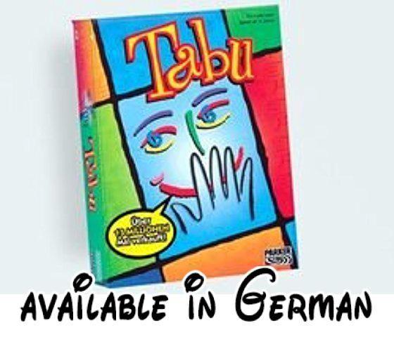 Tabu. für 4 oder mehr Spieler. ab 12 Jahren #Toy #TOYS_AND_GAMES