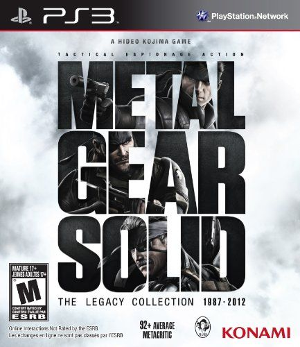 Metal Gear Solid: The Legacy Collection - http://www.psbeyond.com/view/metal-gear-solid-the-legacy-collection - http://ecx.images-amazon.com/images/I/51J5c9xaxNL.jpg