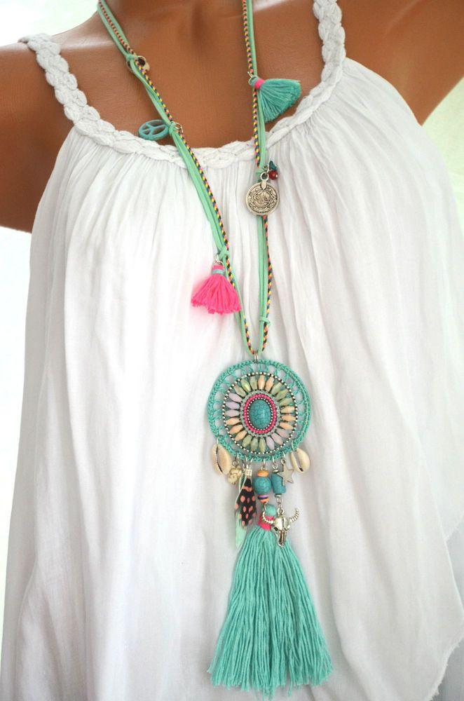 Boho Summer Style.... Boho Necklace