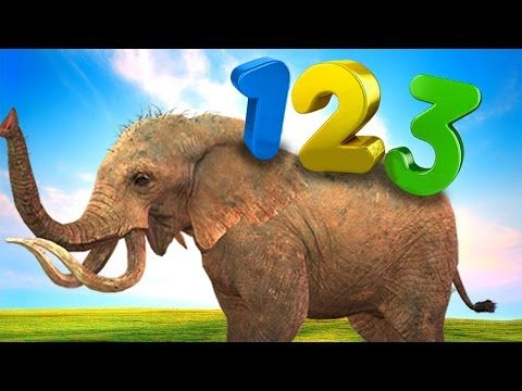 Gorilla Dinosaur Finger Family Rhymes | Learning Animals Names & Numbers | Kids Nursery Rhymes - YouTube