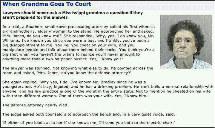 When Grandma goes to court....: Laughing, Small Town, Go Girls, Old Lady, Court, Funny Stuff, Funnies, Humor, Grandma