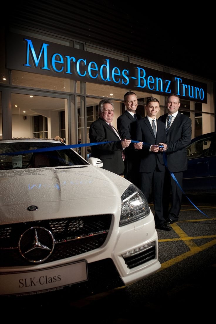 The opening of the brand new Mercedes-Benz of Truro showroom.