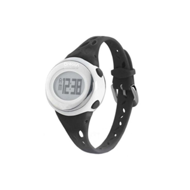 OREGON HEART RATE MONITOR ZONE TRAINER 2.0 - Radiate Good Health & Feminine Elegance with the stylish Oregon Heart Rate Monitor Zone Trainer 2.0. Although these words are not usually associate with a sports watches, the Oregon Scientific's SE332 Heart Rate Zone Trainer is designed for healthy women & functions as both a watch & a heart rate monitor using ECG technology. Get quick & accurate heart rate readings by placing two fingers on the lens' sensor & conveniently view your exercise data.
