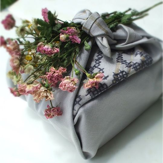 Furoshiki Wrapping for Food Gifts: The Results Are Pretty and Reusable!