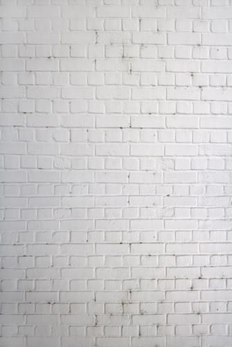 1522 White Brick Wall - Backdrop Outlet - dura or platinum