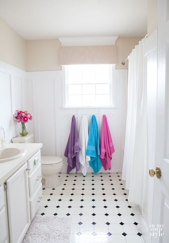 Diy home improvement budget bathroom makeover spa like for Spa like bathroom decor