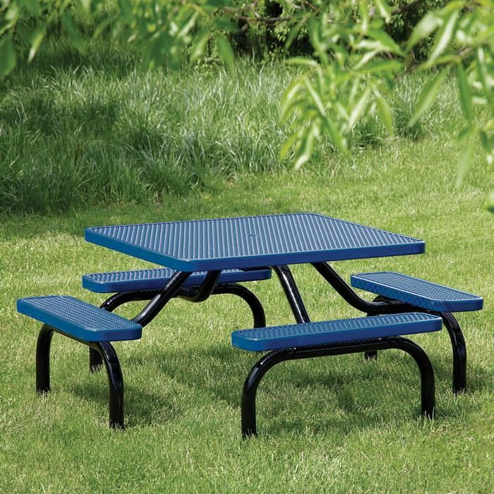 Ultra Expanded Steel Table | Picnic Tables | Upbeat.com