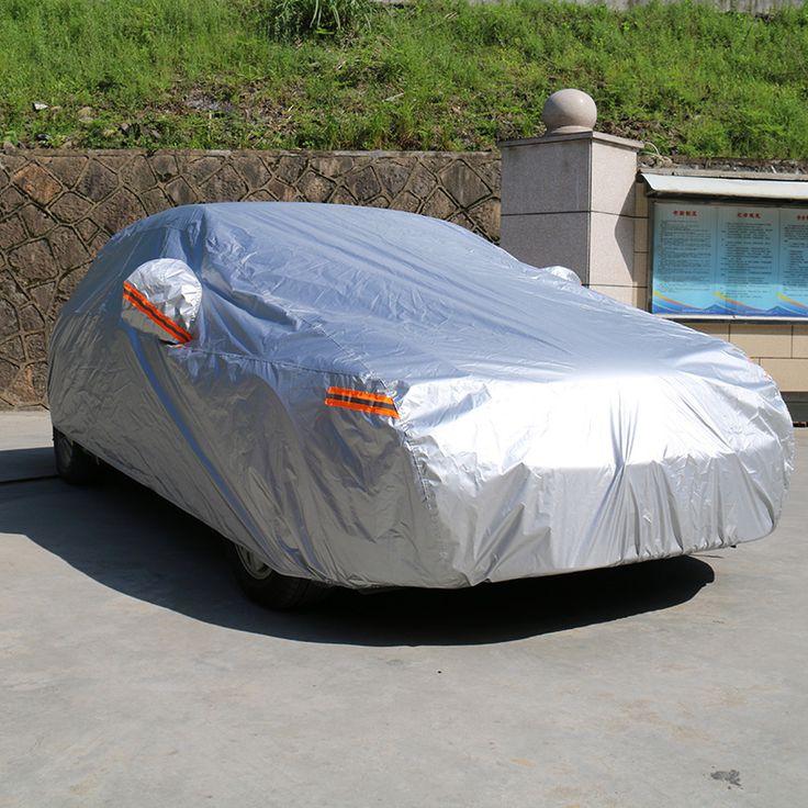 Kayme tampas do carro à prova d' água ao ar livre proteção solar refletor poeira chuva neve protetora suv sedan hatchback cobertura completa para o carro