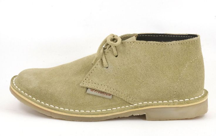 Freestyle (Stone) Veldskoen/Hunter Unisex Handmade Genuine Leather Shoe R 639. Handcrafted in Cape Town, South Africa (Available in Various Colours) Code: 142207 See online shopping for sizes. Shop online https://www.thewhatnotshoes.co.za/ Free delivery within South Africa.