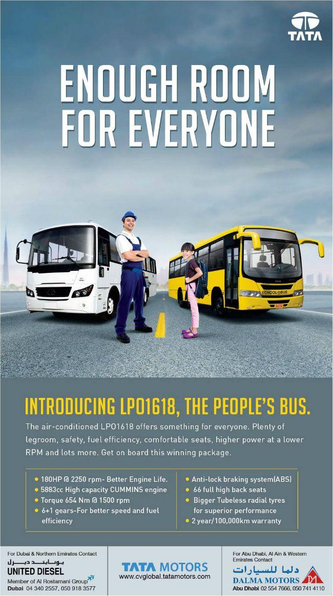 Tata lpo 1618, Tata Motors school bus Request a quote or