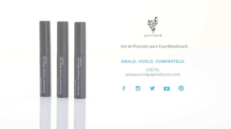 Gel de Precisión para Cejas Moodstruck Younique (Spanish)