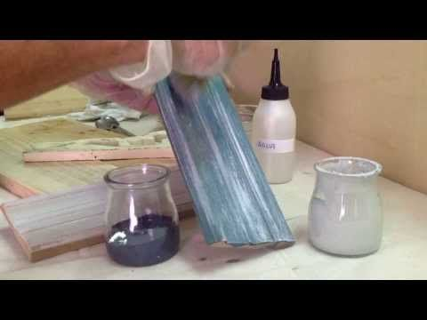▶ Taller de Veladuras con pintura Acrílica. El Sabor de lo Antiguo - YouTube