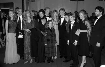 Jamie Redford | Con Sybill, sus hijos Shawna, Jamie y Amy (con sus parejas) y sus ...