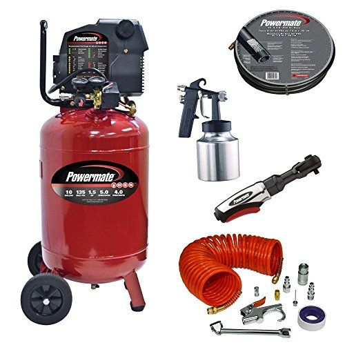 10-Gal. Portable Vertical Air Compressor with Accessories  http://www.handtoolskit.com/10-gal-portable-vertical-air-compressor-with-accessories/