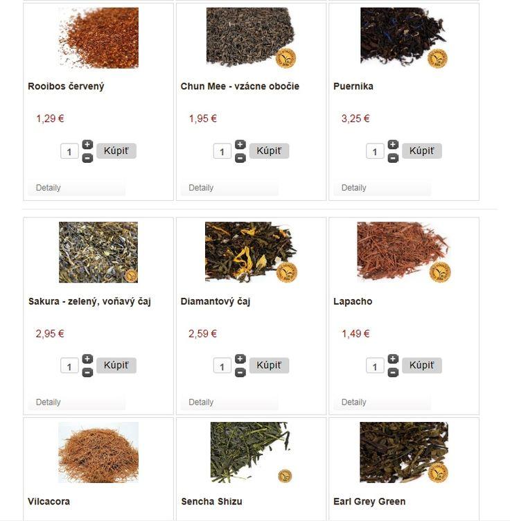 Rozšírili sme ponuku o zelené a čierne čaje