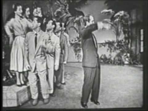 Perry Como Papa Loves Mambo Perry Como Show '54B&W ORGINAL - YouTube