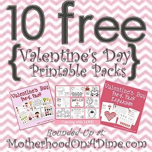 valentine's day activities preschool