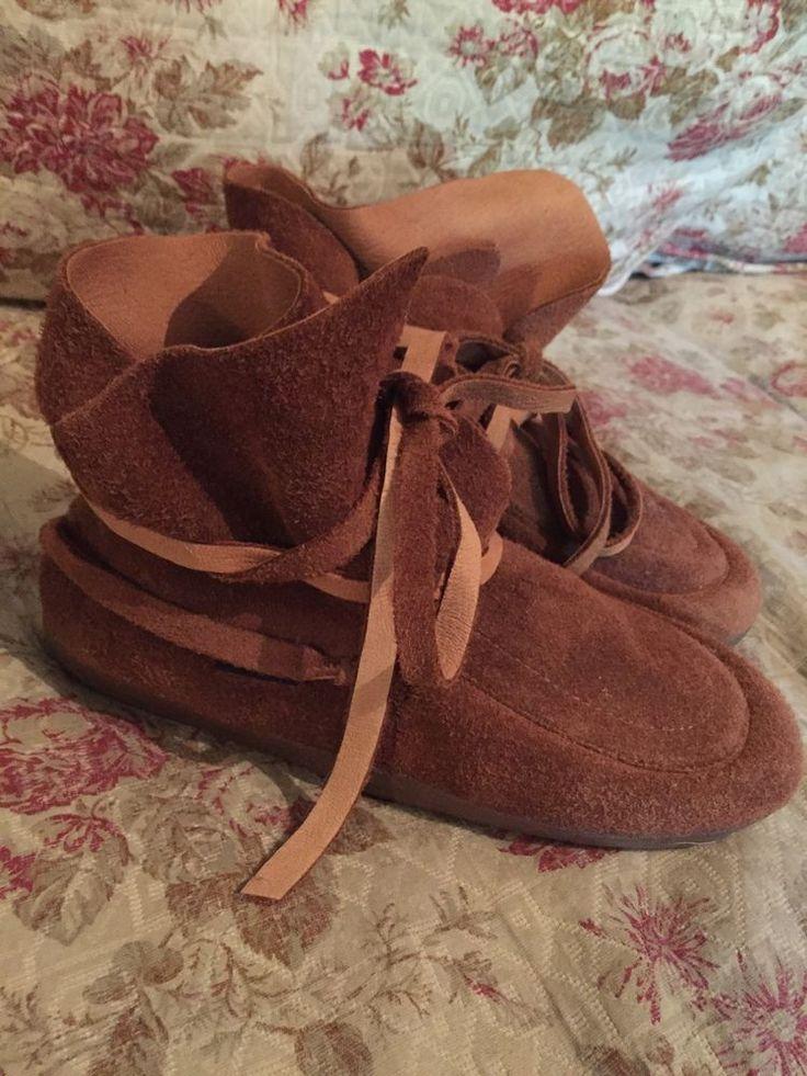 Steger Mukluks Mocs Tracker Moccasins Men 10 Leather Boots