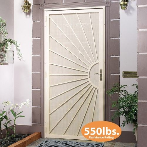 first-alert-d10fa36x80nw-sunrise-security-screen-door-36in- & 70 best Doors !! images on Pinterest | Doors Front doors and Windows pezcame.com