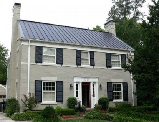 integrated solar - A 1930s-era house on the edge of an historic district in Kentucky topped with a thin-film solar system, placed on a standing-seam metal roof.  After tax credits, the new metal roof and PV system cost about $23,000, but might pay for itself in ten years, due to energy savings and by selling power back to the utility. After the install, electric bills for the 2,800 square foot house are roughly $16 per month. solartoday-digital.org, regenensolar.com