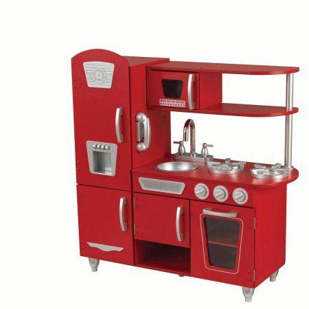 First Choice: KidKraft Vintage Play Kitchen - Red