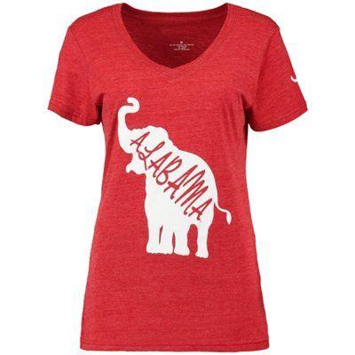 $25 - Alabama Crimson Tide Women's DNA Tri-Blend V-Neck T-Shirt - Crimson, size M