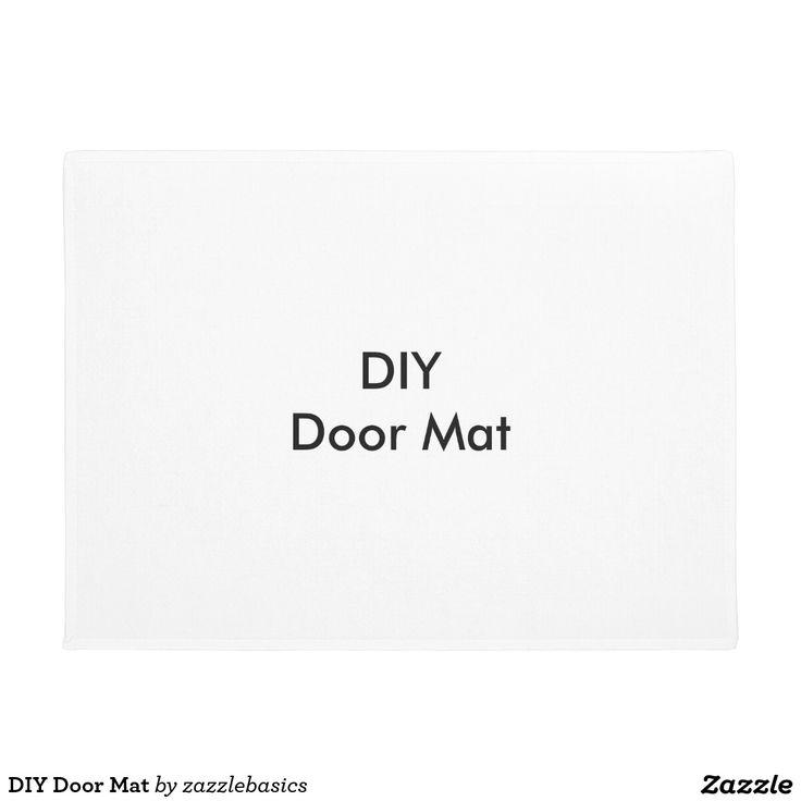 25 Unique Diy Door Mats Ideas On Pinterest Entrance