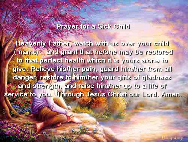 Catholic Blessing Of The Sick | prayers for the sick for FREE - Christian prayers Catholic Prayers ...