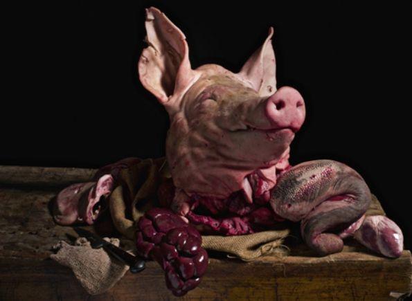 Portions of swine