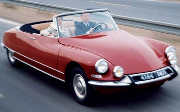 Top Auto Designers Name Classic Citroën DS Most Beautiful Car of All Time-- and those hydraulic suspensions are simply the best