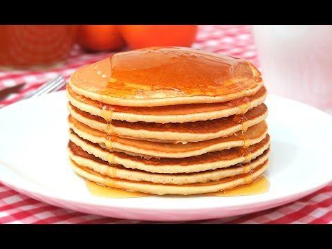 Tortitas Americanas Fáciles y Esponjosas | Hot Cakes | Pancakes - YouTube