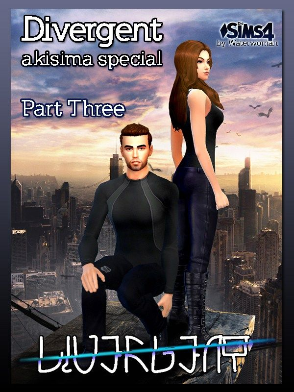 Akisima Sims Blog: DIVERGENT – Poster • Sims 4 Downloads