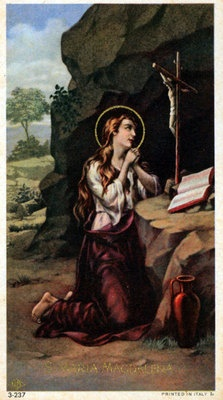 309 best art st mary magdalene images on pinterest mary antique holy card st mary magdalene sciox Gallery