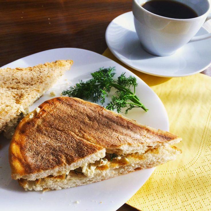Vegan mayonezli tofu salatası sandviçi (vegan egg salad sandwich) | Vegan Yemekler