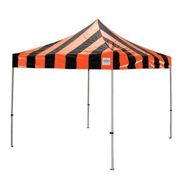 10' x 10' Carnival Instant Canopy (Orange/Black)