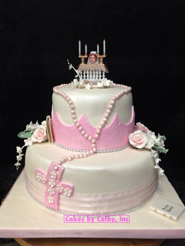 Pretty and pink!  Cakes  Pinterest  Pink