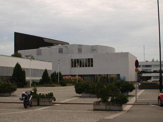 Seinäjoki City Theater designed by Alvar Aalto
