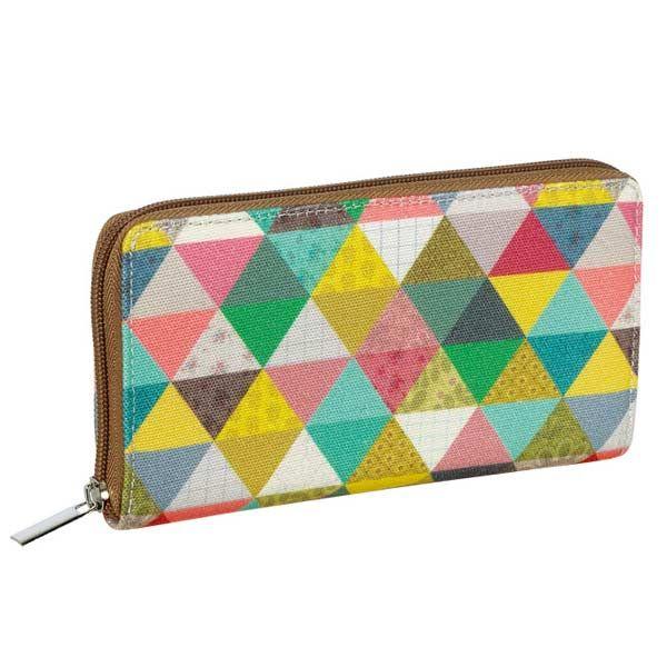 Portefeuille Mini Labo - Triangles - portefeuille multi-poches