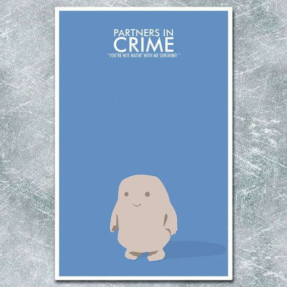 Doctor Who Poster Partners in Crime  11x17 by ModernStylographer, $17.00