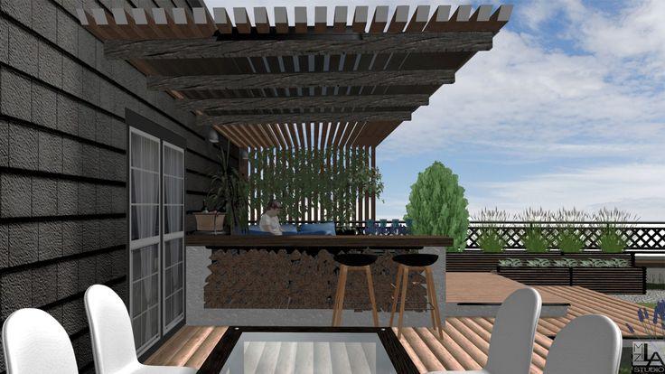 Ogród na dachu.