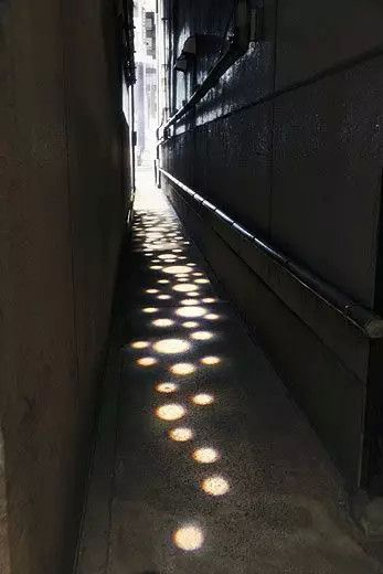Great way to lighten up a dark or narrow path or walk way /alley