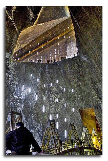 Turda Salt Mine . Romania