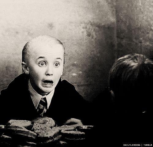 Haha oh Draco!