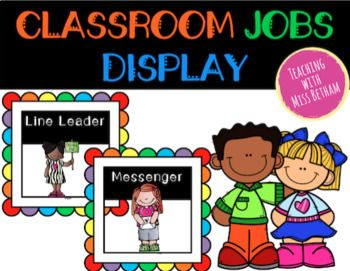 These colourful student job tags are the PERFECT product to display in your classroom! Included in this pack are EDITABLE job tags and numbered counters for students. Read below for more details on what's included! This fun filled pack includes: - 'Our