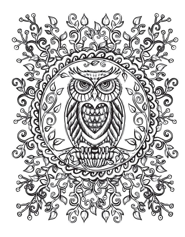 511 best images about animals to color on pinterest Sacred animals coloring book